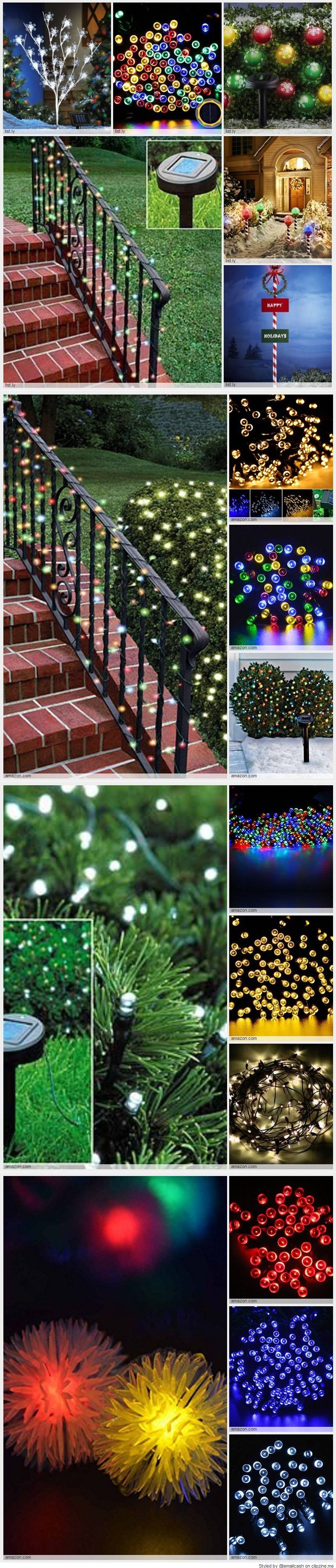 then check out the videos that we found that show you how to use your solar powered christmas lights to really brighten up your outdoor