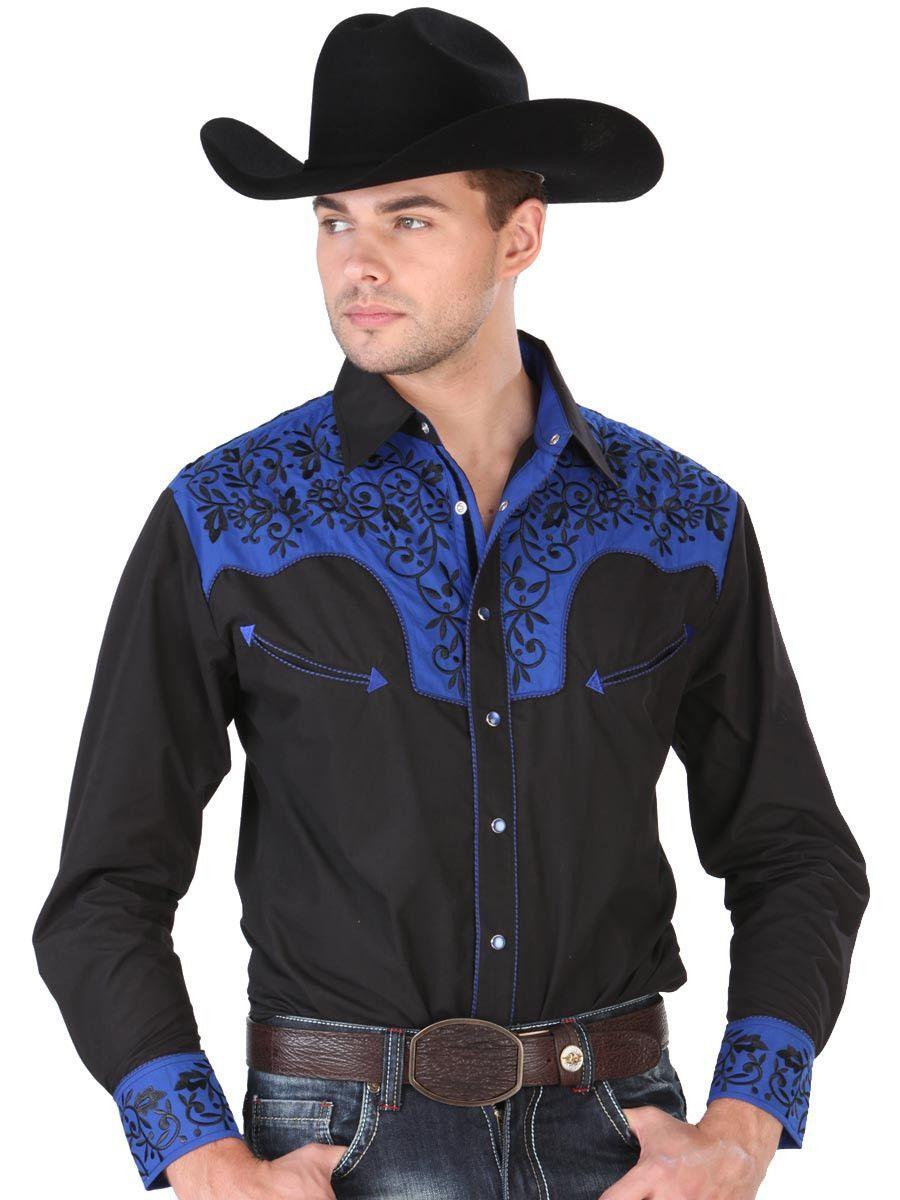 33147 camisa vaquera caballero el senor de los cielos 65 for Combinar camisa vaquera negra hombre