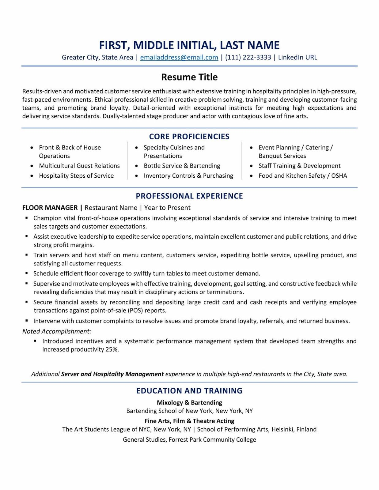 A Good Resume Title A Good Resume Title For Customer Service What Is A Good Resume Title For Careerbuilder Examp Resume Examples Best Resume Format Resume Tips