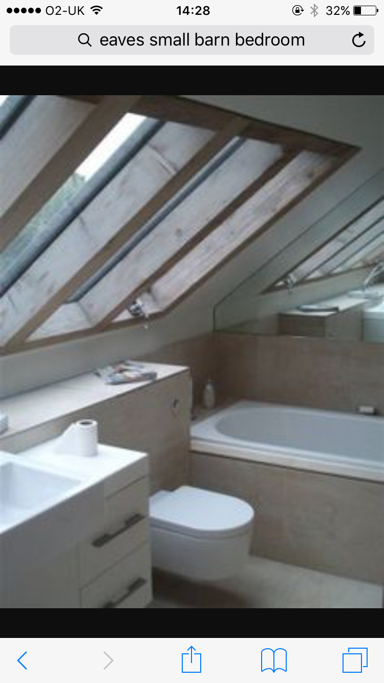 A bank of rooflights make small attic rooms feel larger and flood the  interior with daylight