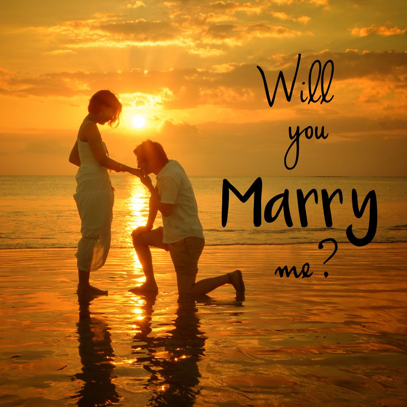 YES, I Will Marry You. . . Anytime