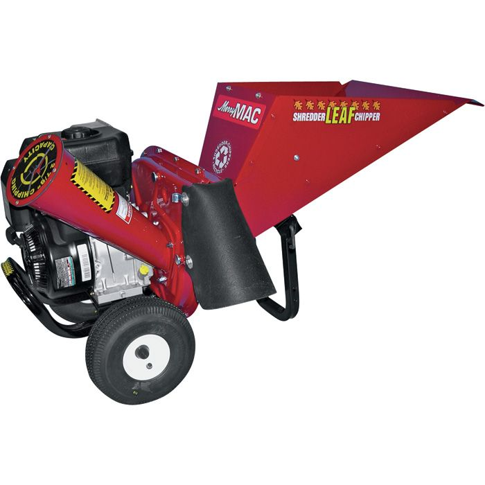 Merry Mac Chipper Shredder 249cc Briggs Amp Stratton Ohv