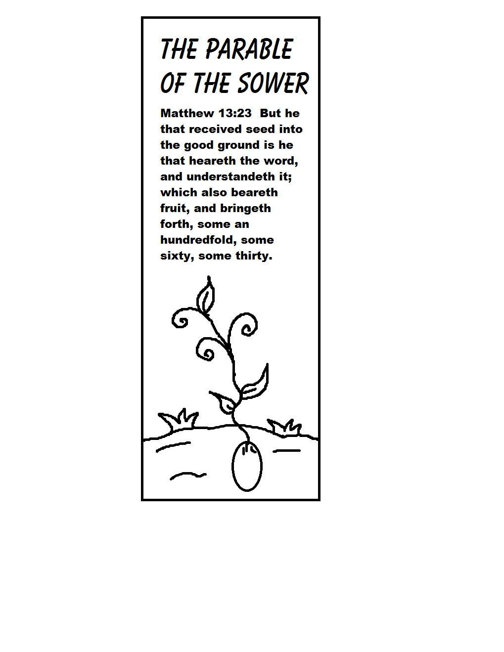 parable of the sower | The Parable of The Sower Sunday