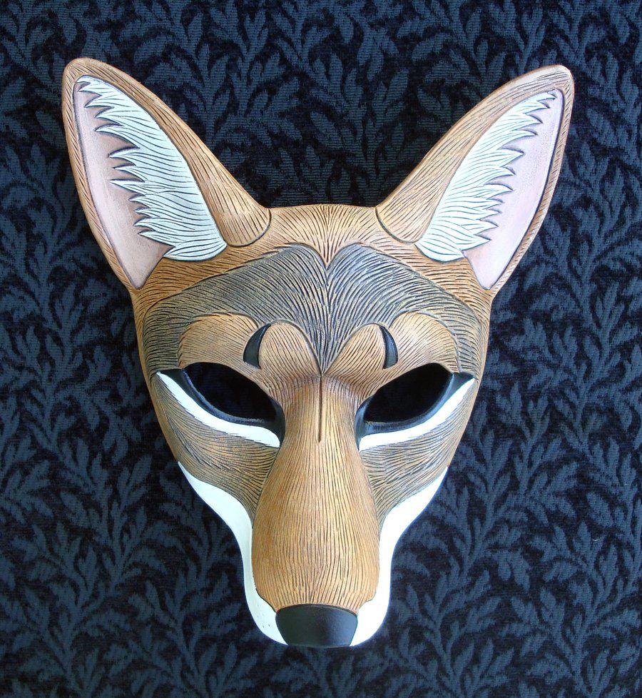 Leather Coyote Mask 2010 by *merimask on deviantART | The Witch\'s ...
