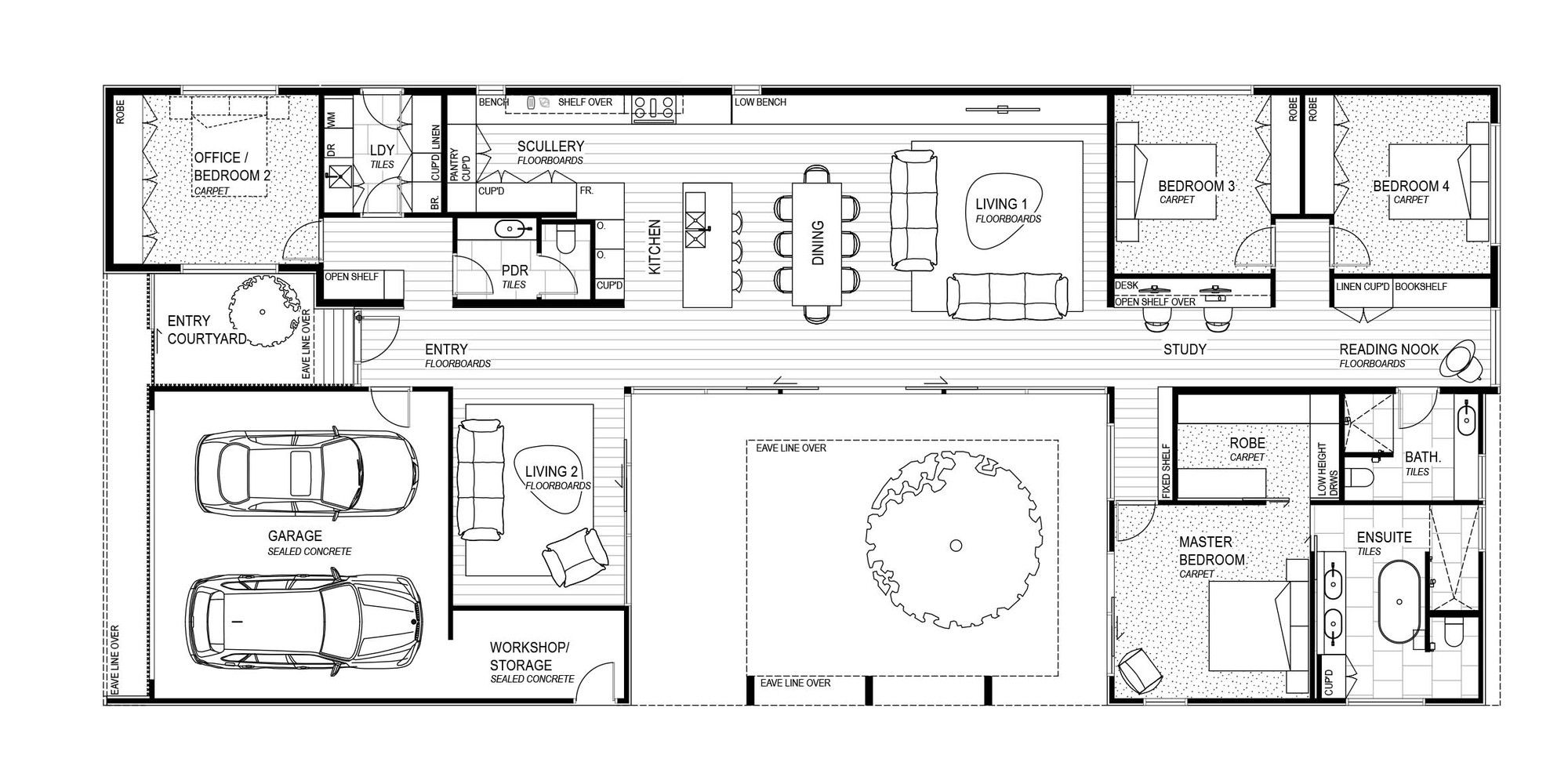 Gallery Of The Courtyard House Auhaus Architecture 44 Courtyard House Courtyard House Plans Modern Courtyard