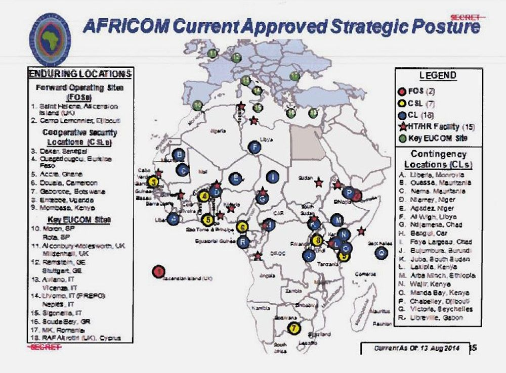 U S Military Says It Has A Light Footprint In Africa These