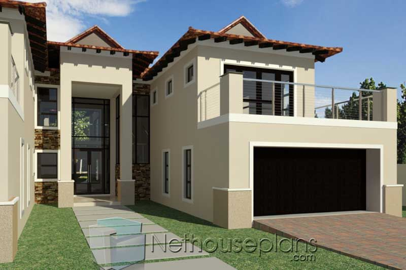 Double Storey 5 Bedroom House Plans 487m This 5 Bedroom Double Storey House Plans Features Gr In 2020 Double Storey House Plans House Plans Affordable House Plans