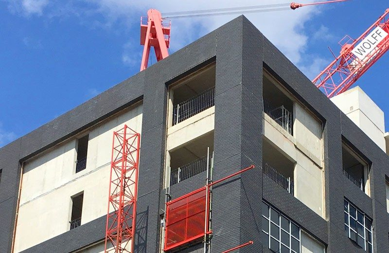 Dakota Hotel 12 Hybrid frame construction complete (With