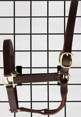 Albright's leather halter
