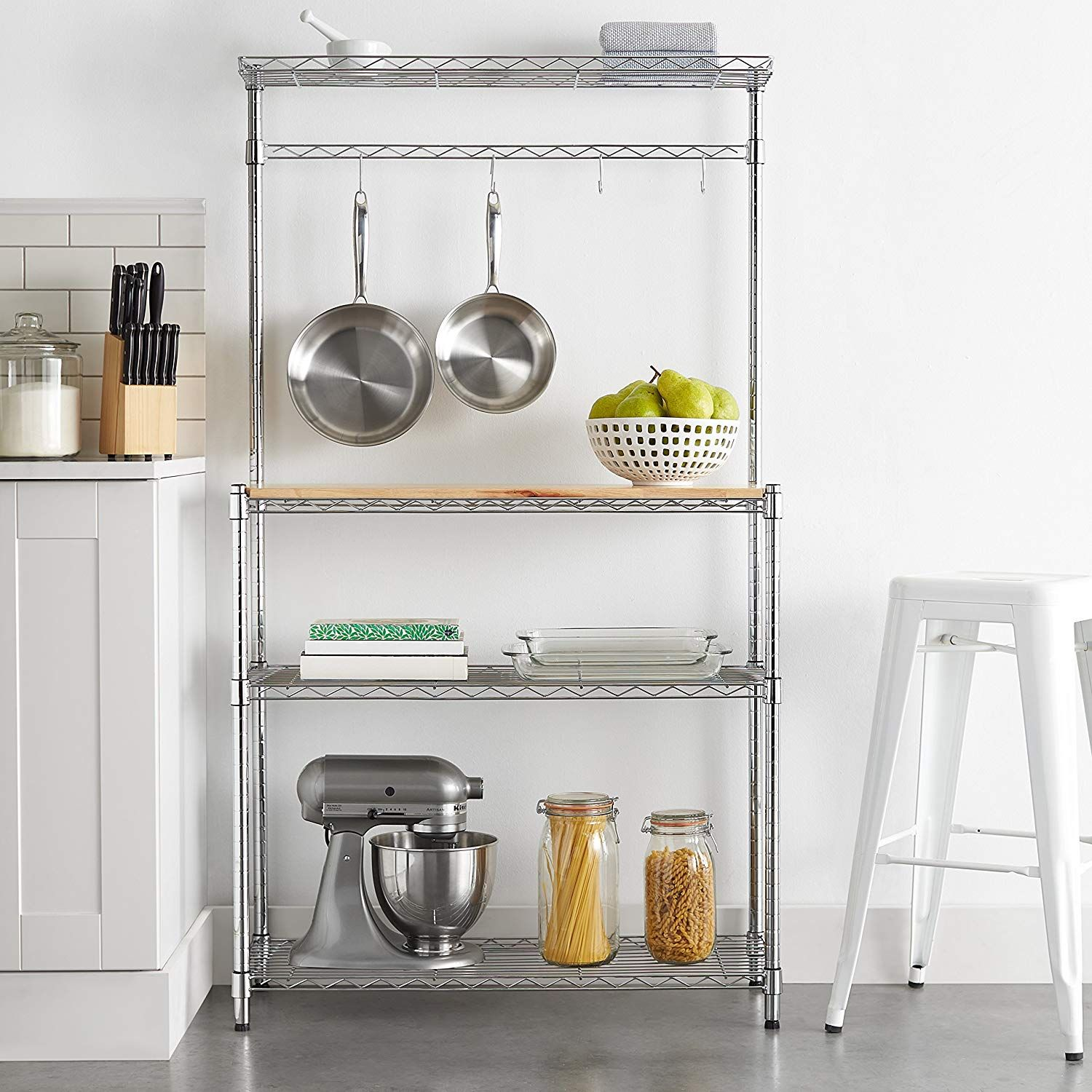 Amazon S Most Stylish Small Space Buys Kitchen Storage Solutions