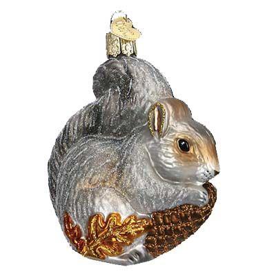Hungry Squirrel Christmas Ornament 12277 Merck Family S Old World Christmas Old World Christmas Ornaments Old World Christmas Christmas Ornaments