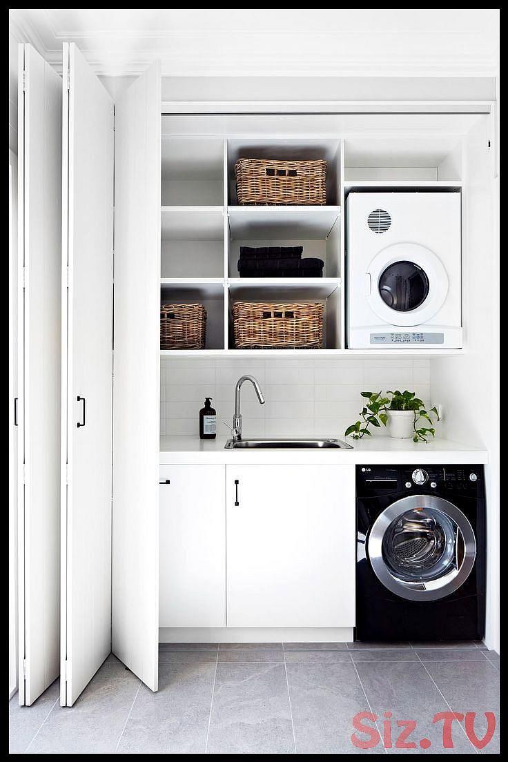 Trockner Auf Waschmaschine Oder Daneben Praktisch Stellen 10 Tipps Trockner Auf Waschmaschine Oder Dan Waschkuchendesign Waschraumgestaltung Badezimmer Design