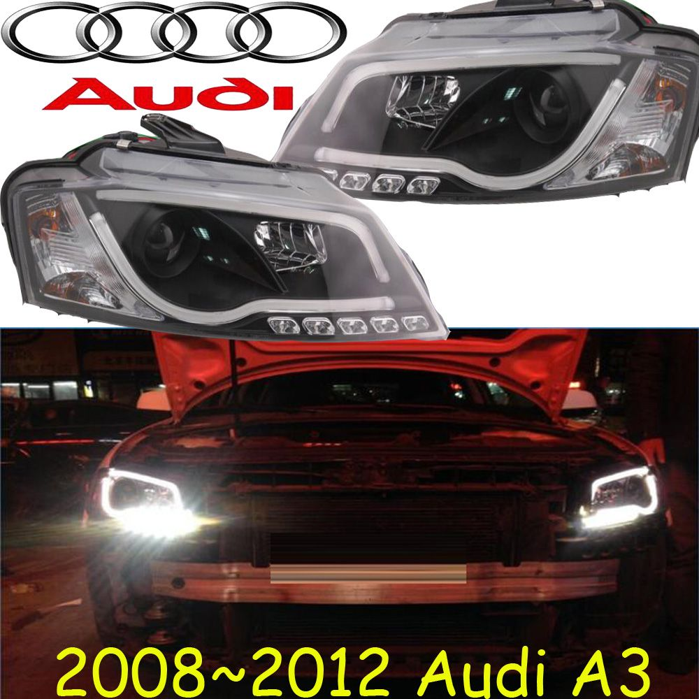 A3 Headlight 2008 2012 Fit Lhd Free Ship A3 Fog Light A4 A5 A8 Allroad Quattro Q3 Q5 Q7 S3 S4 S5 S6 S7 S8 Car Lights Car Audi