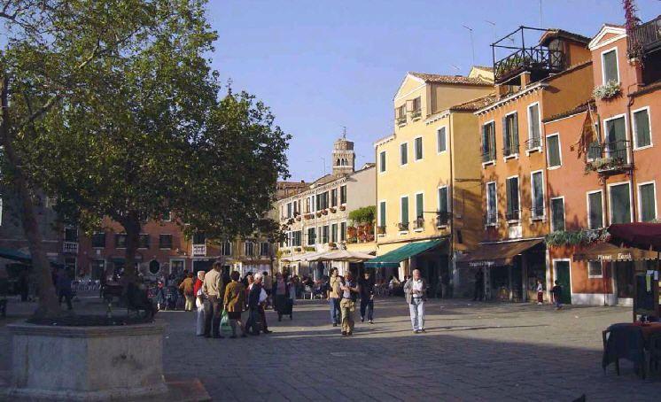 Campo Santa Margherita In Venice Santa Margherita Dorsoduro Venice