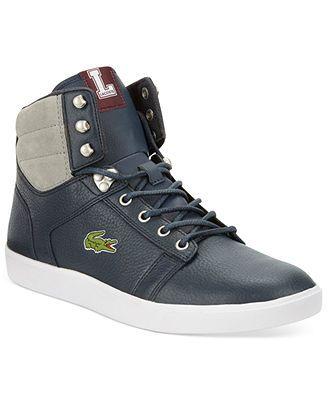 Lacoste Orelle Hi-Top Sneakers