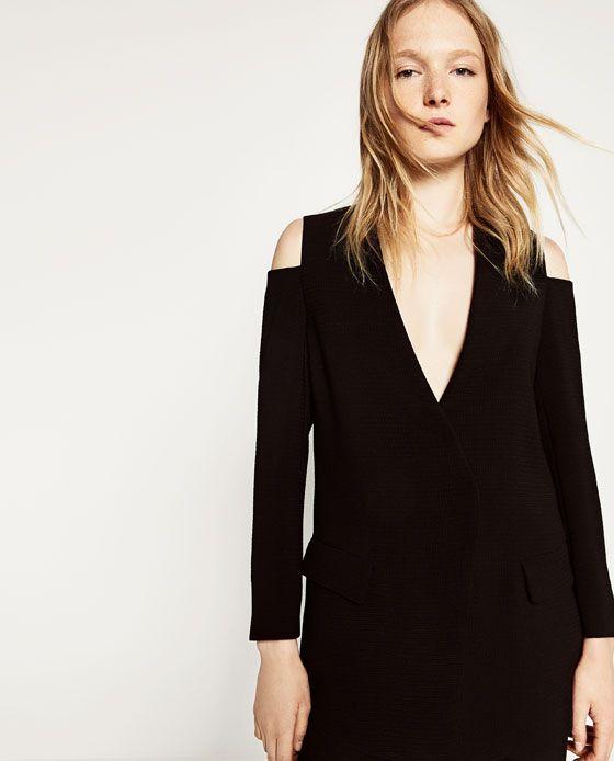 0eaa9994 Imagem 2 de BLAZER OMBROS DESCOBERTOS da Zara | #STYLE _Wishing ...