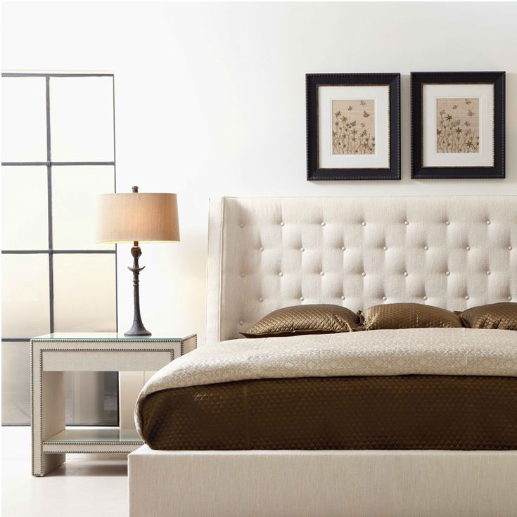 Best Bernhardt Interiors Maxime Platform Wing Bed Weston Nightstand Bernhardt Bedroom Pinterest 400 x 300