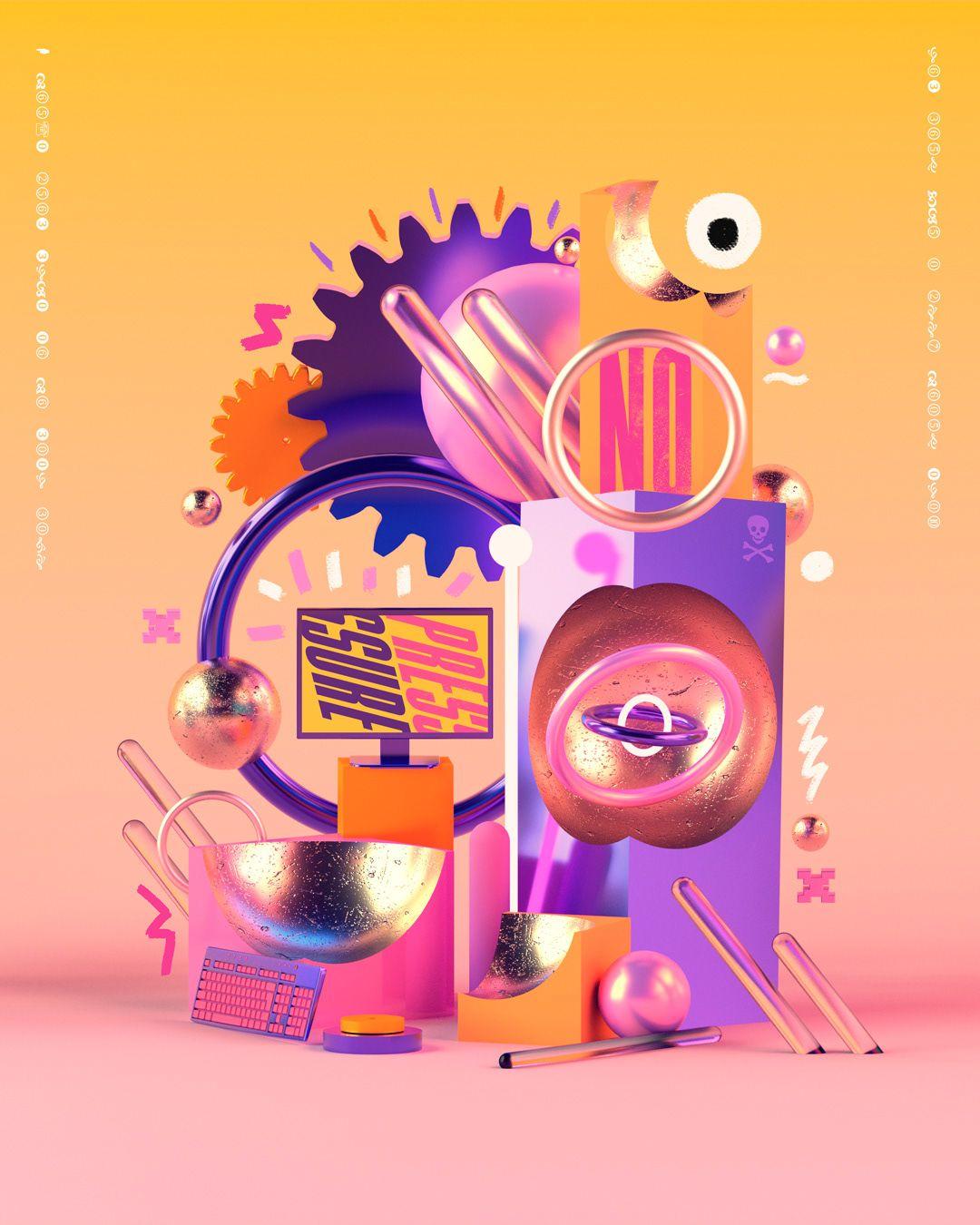 2018 Illustrations - Vol 1 on Behance