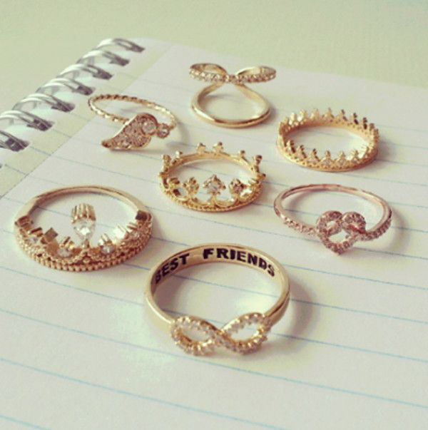 Fashion Rings For Teenage Girls Google Search With Images
