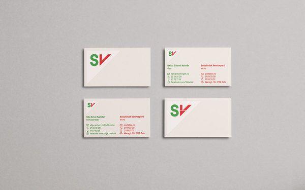 Heydays – Dynamic identity system for Norwegian political party SV