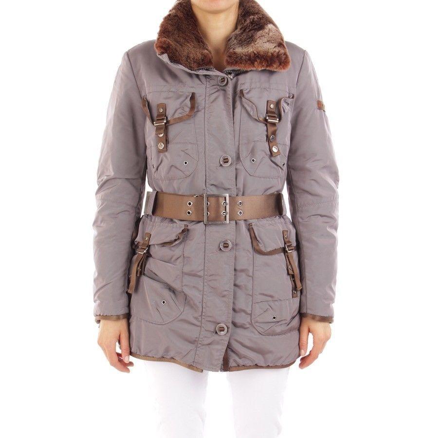 087e7715eae0c0 PEUTEREY Winterjacke Gr. DE 38 IT 44 Lila Damen Jacke Jacket Coat Mantel