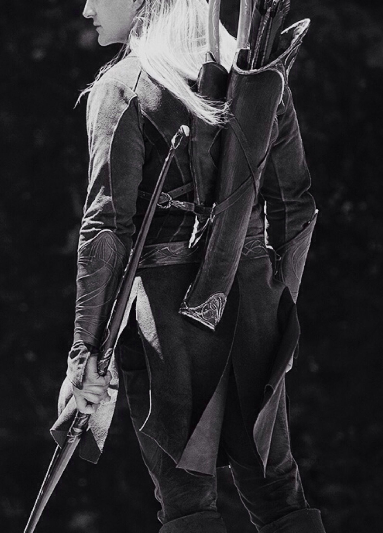 Legolas. I always thought Orlando was wonderful as Legolas. For some reason he left me scratching my head as Will Turner.