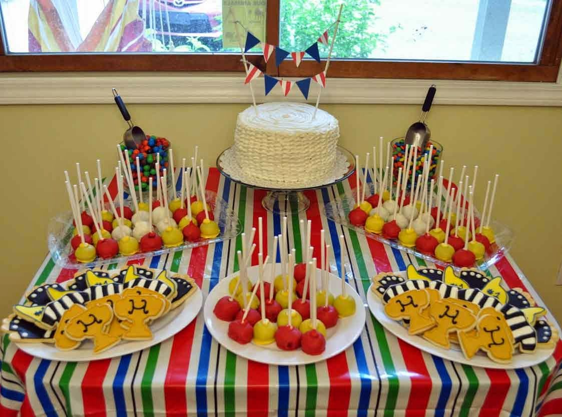 Home Interior Party Cake Table Decorations Birthday Dessert