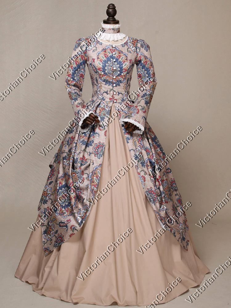 Victorian Royal Game of Thrones Fairytale Queen Dress Theater Clothing N 156