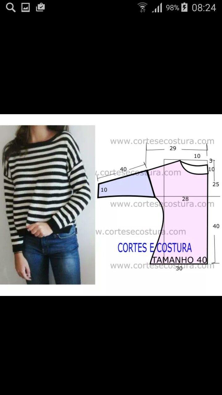 Pin de Pilar Echeverria en molderia | Pinterest | Costura, Patrones ...