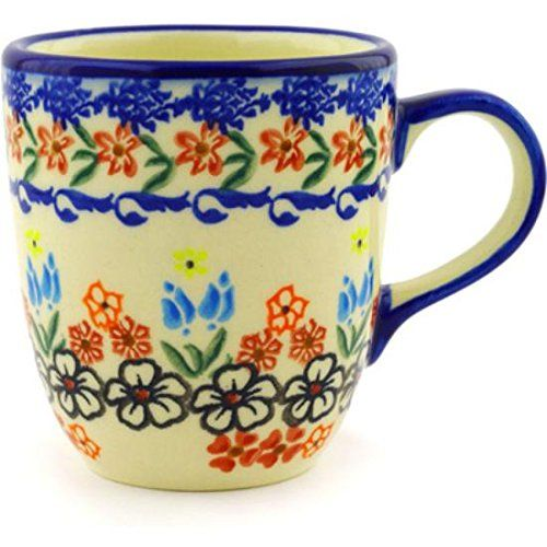 Ceramika Bona H2123G Polish Pottery Ceramic Mug Hand Painted 11Ounce ** You can get additional details at the image link.
