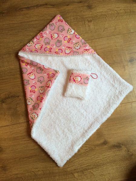 Photo of Doll hooded towel + washcloth from * Creative Happiness * on DaWanda.com