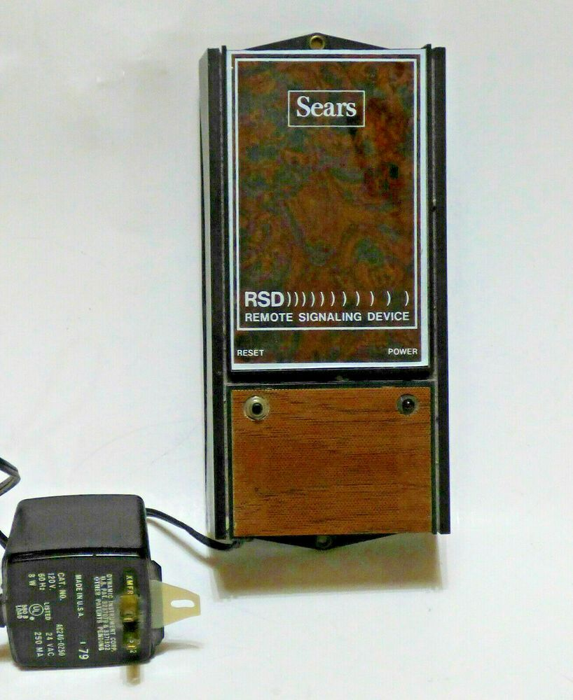 Vintage Sears Rds Remote Signaling Device Accessory Garage Door Opener Or Smoke Ebay In 2021 Device Accessories Remote Garage Door Opener