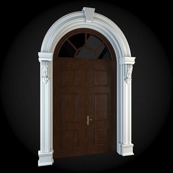 Door 032. House 3D model. #3D #3DModel #3DDesign #3DScene ...