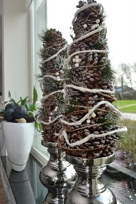 Leuk voor in de vensterbank kerstmis pinterest for Decoratie voor in de vensterbank