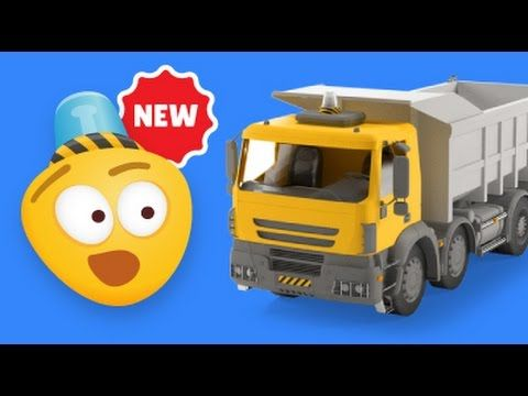 dump trucks for kids construction game educational cartoons for