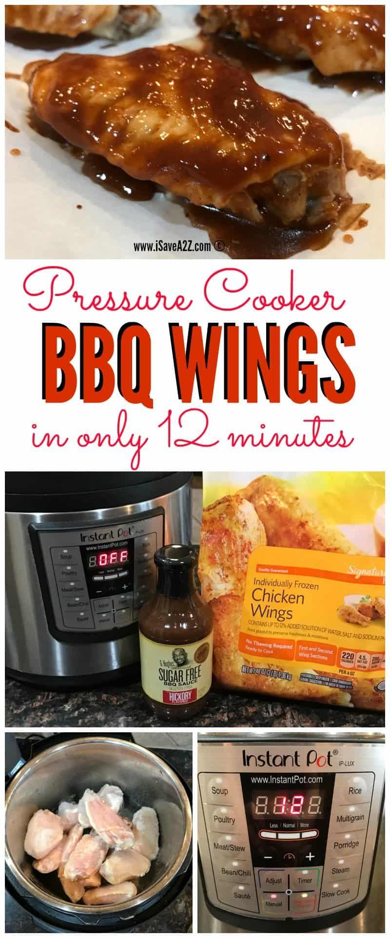 Easy pressure cooker bbq wings recipe pressure cooker