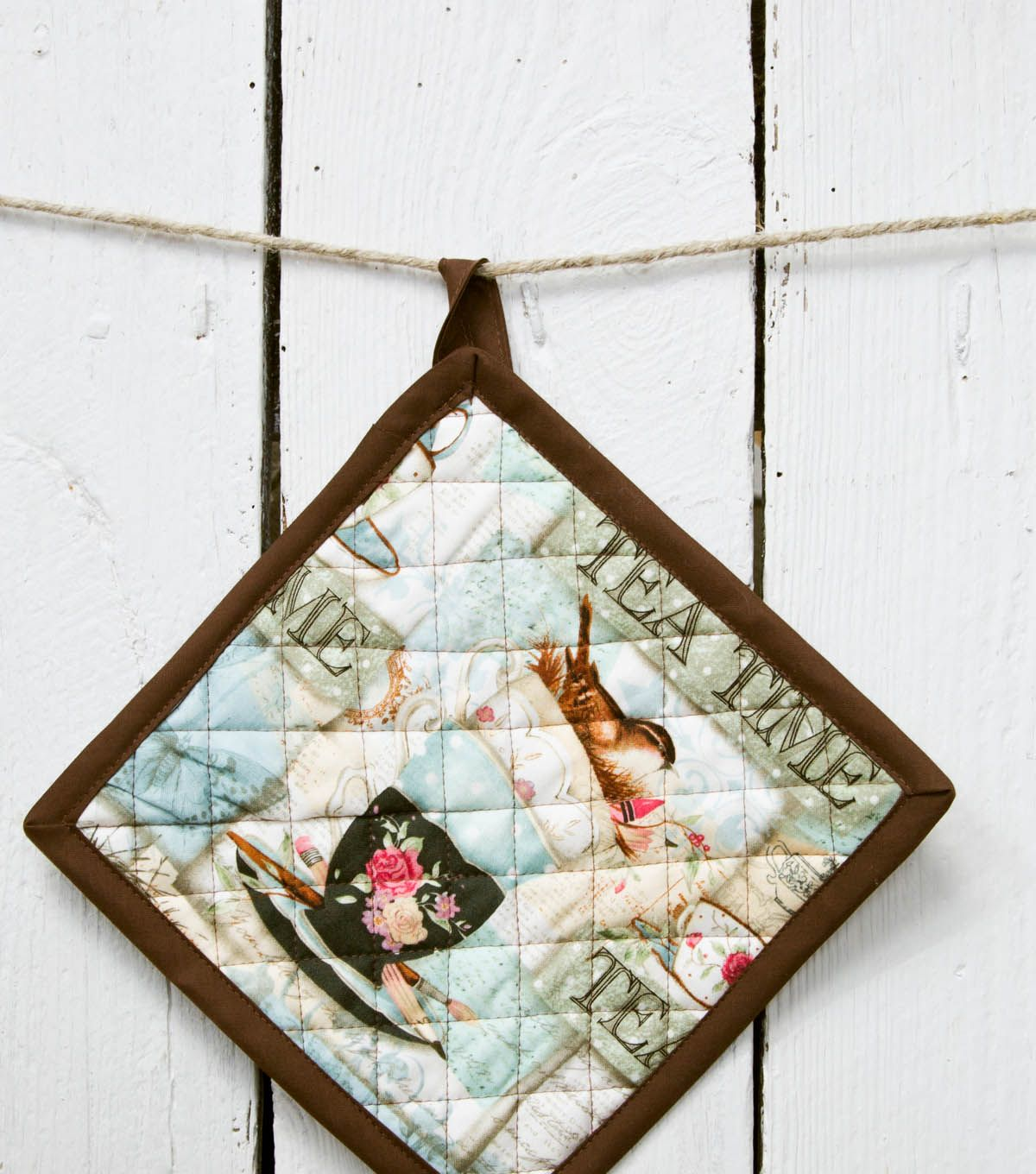 Homemade Pot Holders: Mother's Day Gift Ideas
