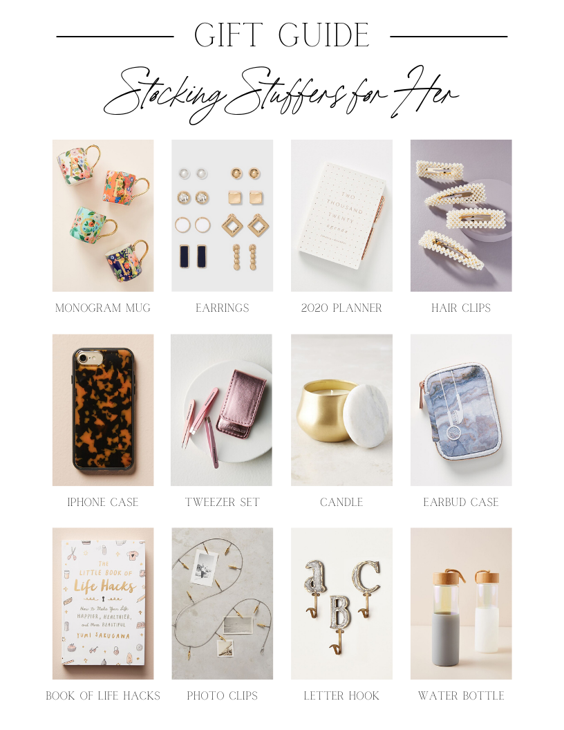 Best Stocking Stuffers 2020.Gift Guide Stocking Stuffers For Her Stocking Stuffers
