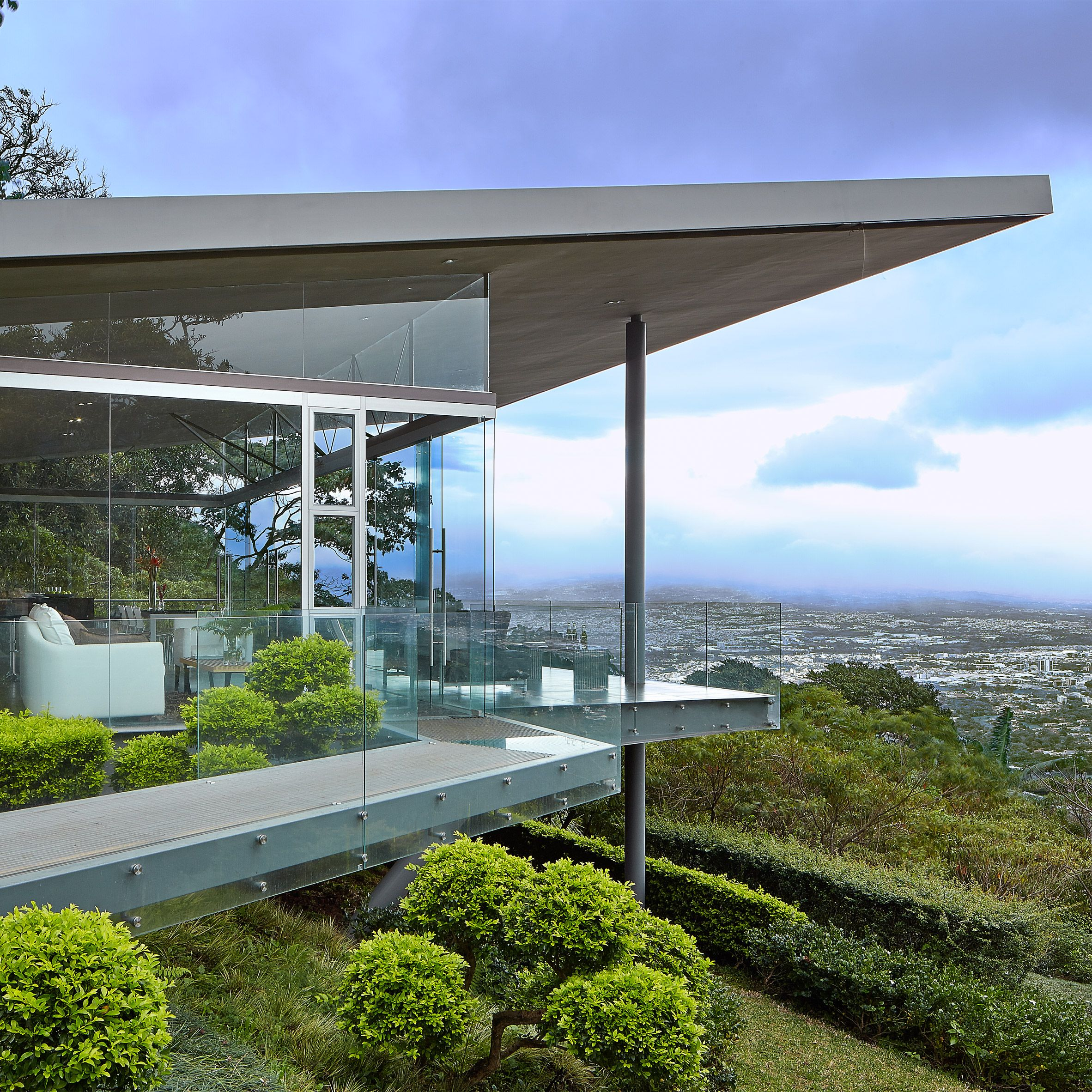 Glazing Across This House In Costa Rica By Canas Arquitectos