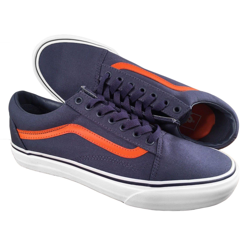 SUPREME (シュプリーム) X VANS 11SS OLD SKOOL '92 old school sneakers (blue orange) Size(28.0cm) (possible used goods )