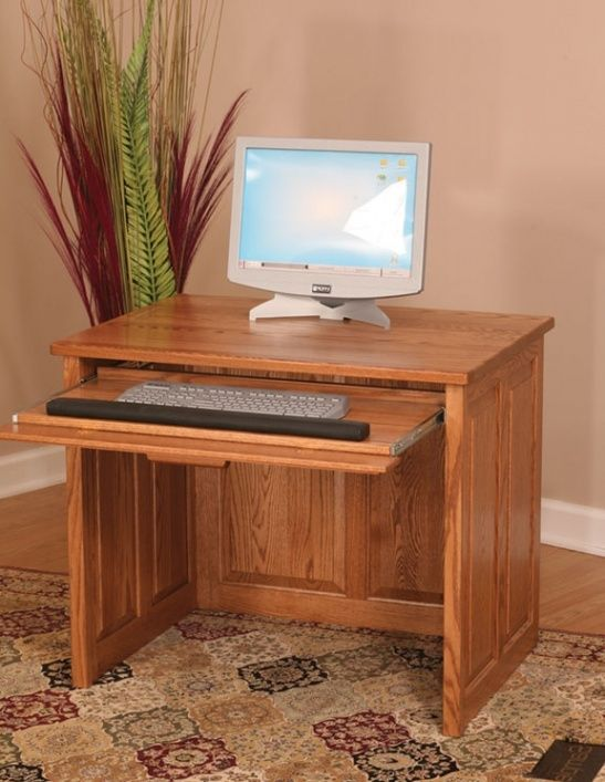 furniture flat top computer desk 36 with raised panel back rh pinterest com computer desk raised monitor platform