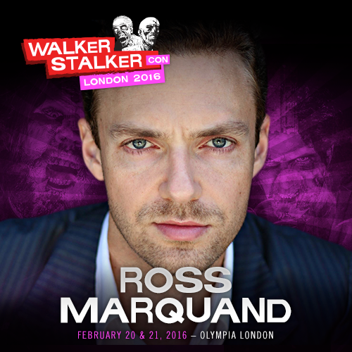 Posted by Ross Marquand (Aaron)  RT @WalkrStalkrCon: GUEST ANNOUNCEMENT  Ross Marquand / @RossMarquand (Aaron The Walking Dead) will be joining us for #WSCLondon! http://t.co/8JeKpFjoqo #RossMarquand #Aaron #TWD #TheWalkingDead September 10 2015 at 01:02PM