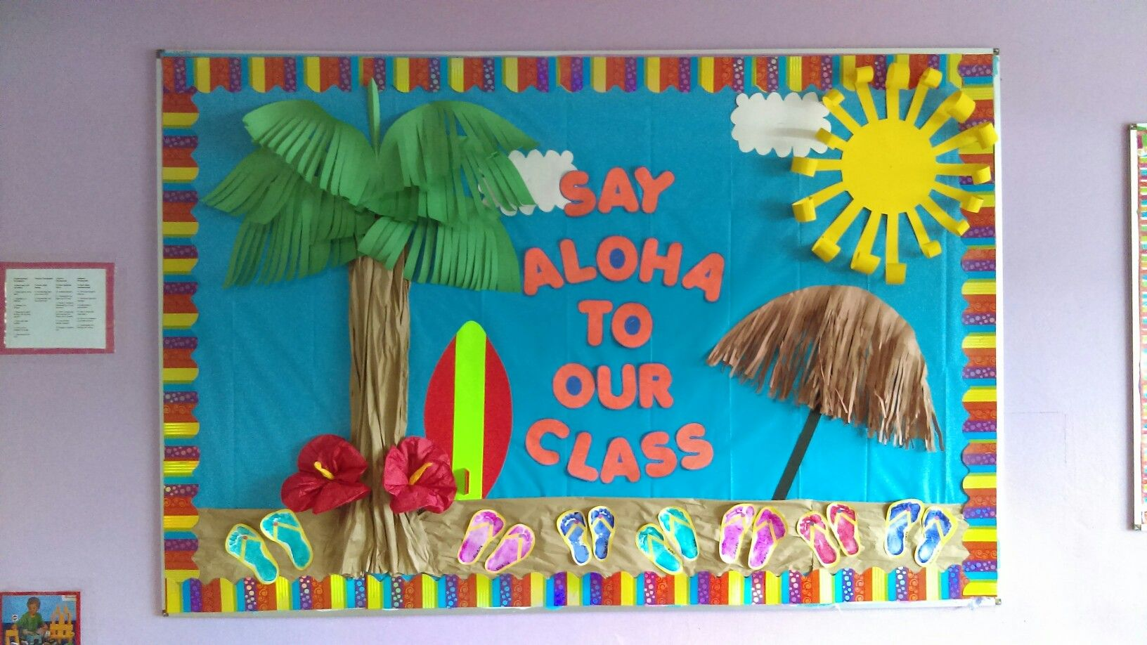 Ocean Themed Bulletin Board Titles