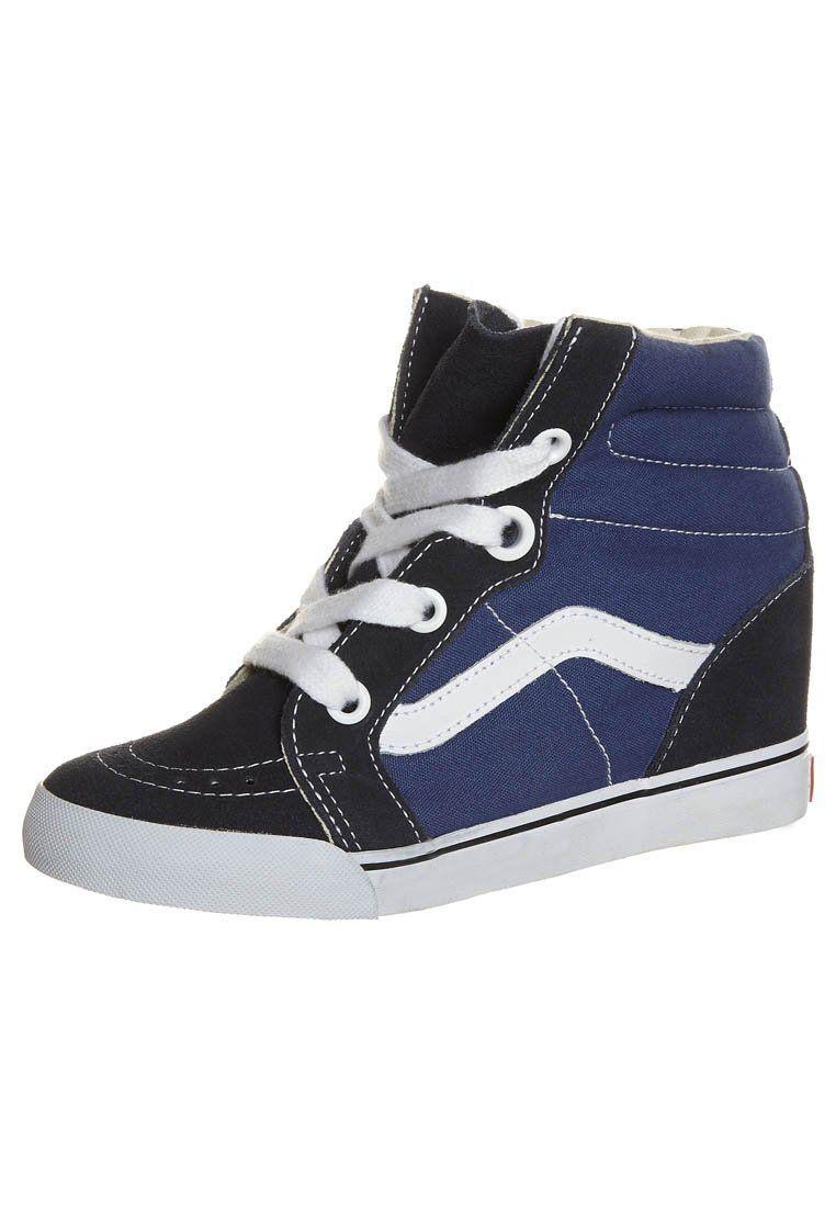 Vans SK8 HI WEDGE Sneakers hoog Blauw Joggesko  Sneakers