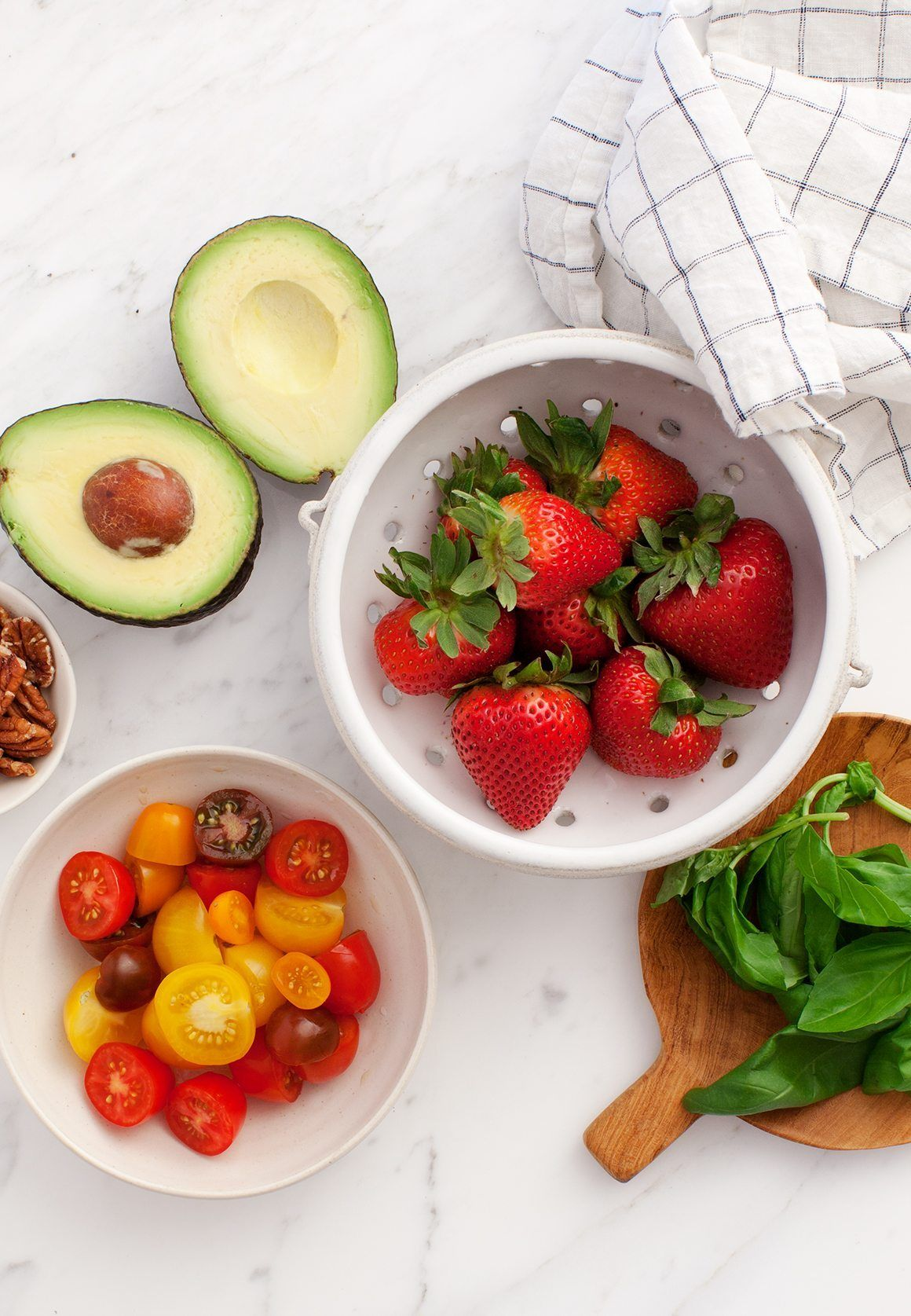 Strawberry Salad with Avocado