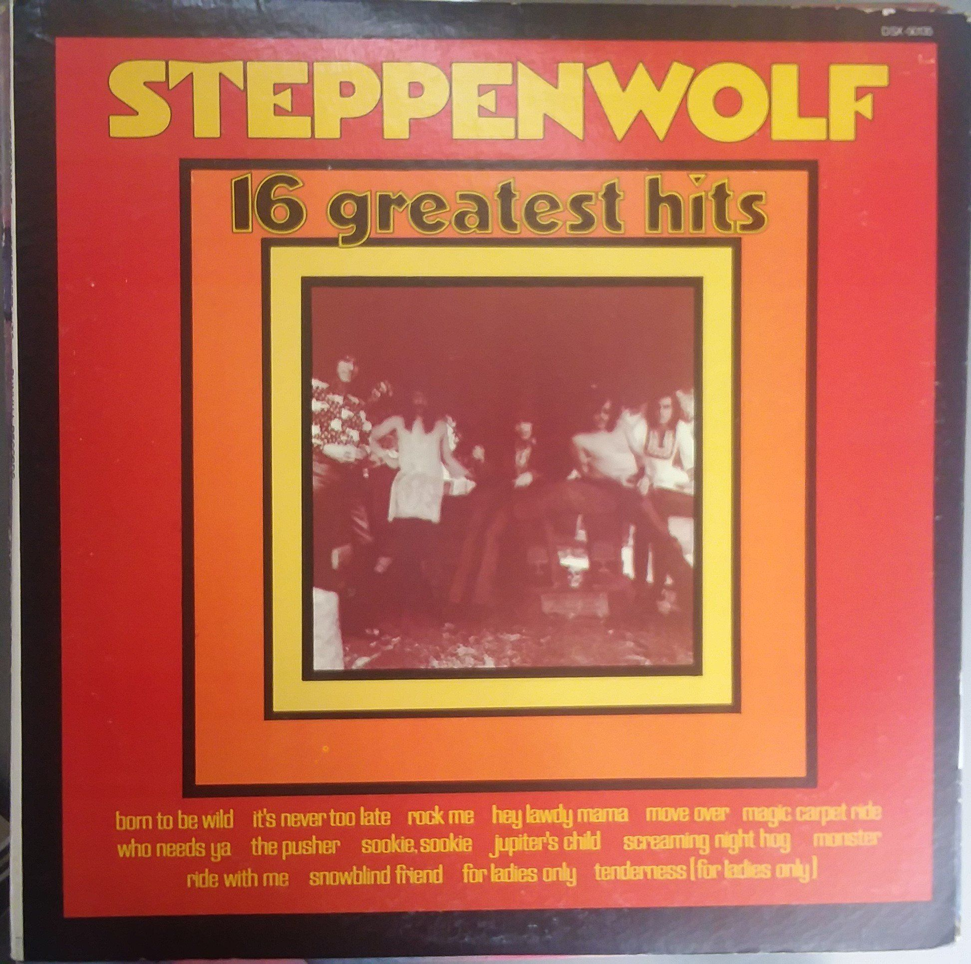 Steppenwolf 16 Greatest Hits Vintage Record Album Vinyl Lp Classic Rock And Roll Music Canadian Americ Classic Rock And Roll Greatest Hits Vintage Records