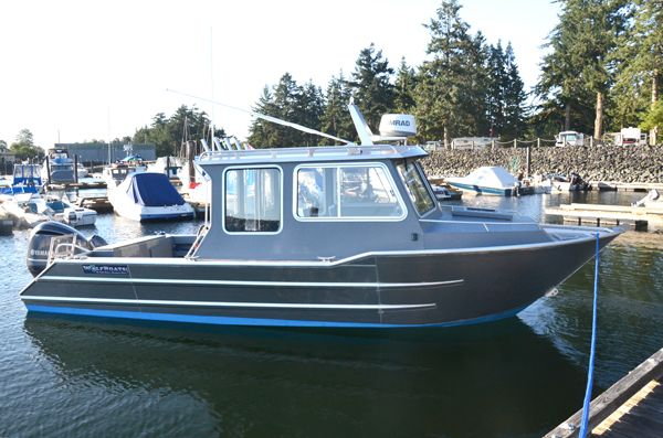 Wolf mfg inc aluminum boat wolf west coast cruiser hard for Aluminum boat with cabin for sale