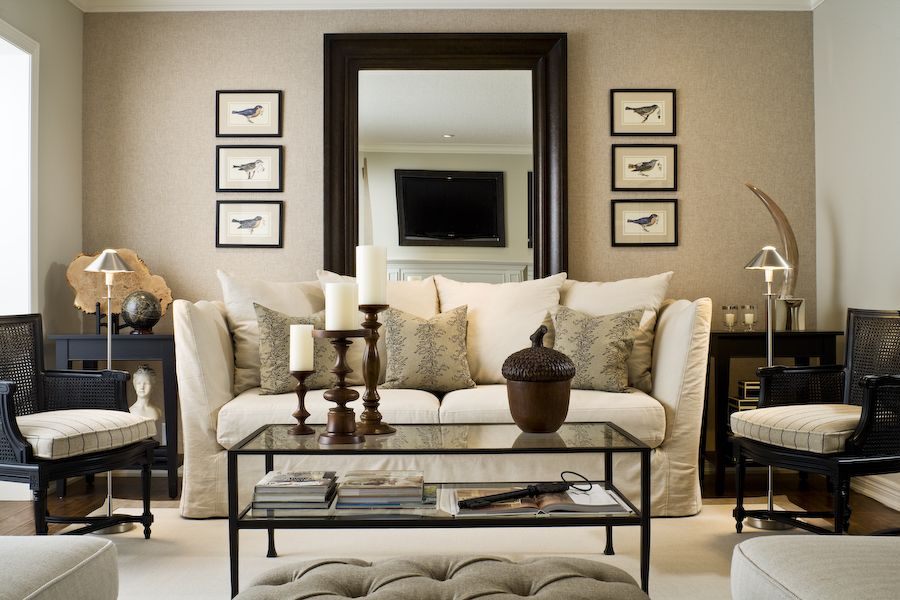 Design Dilemma What To Hang On The Big Wall Behind Your Sofa Emily A Clark Cozy Living Room Design Home Home Decor