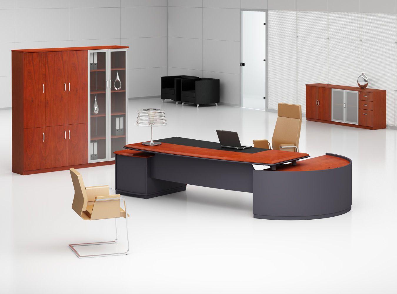 BüromöbelBergamo SchreibtischBüroBergamo BüromöbelSerieOnline Serie Bergamo präsentiert sich ...