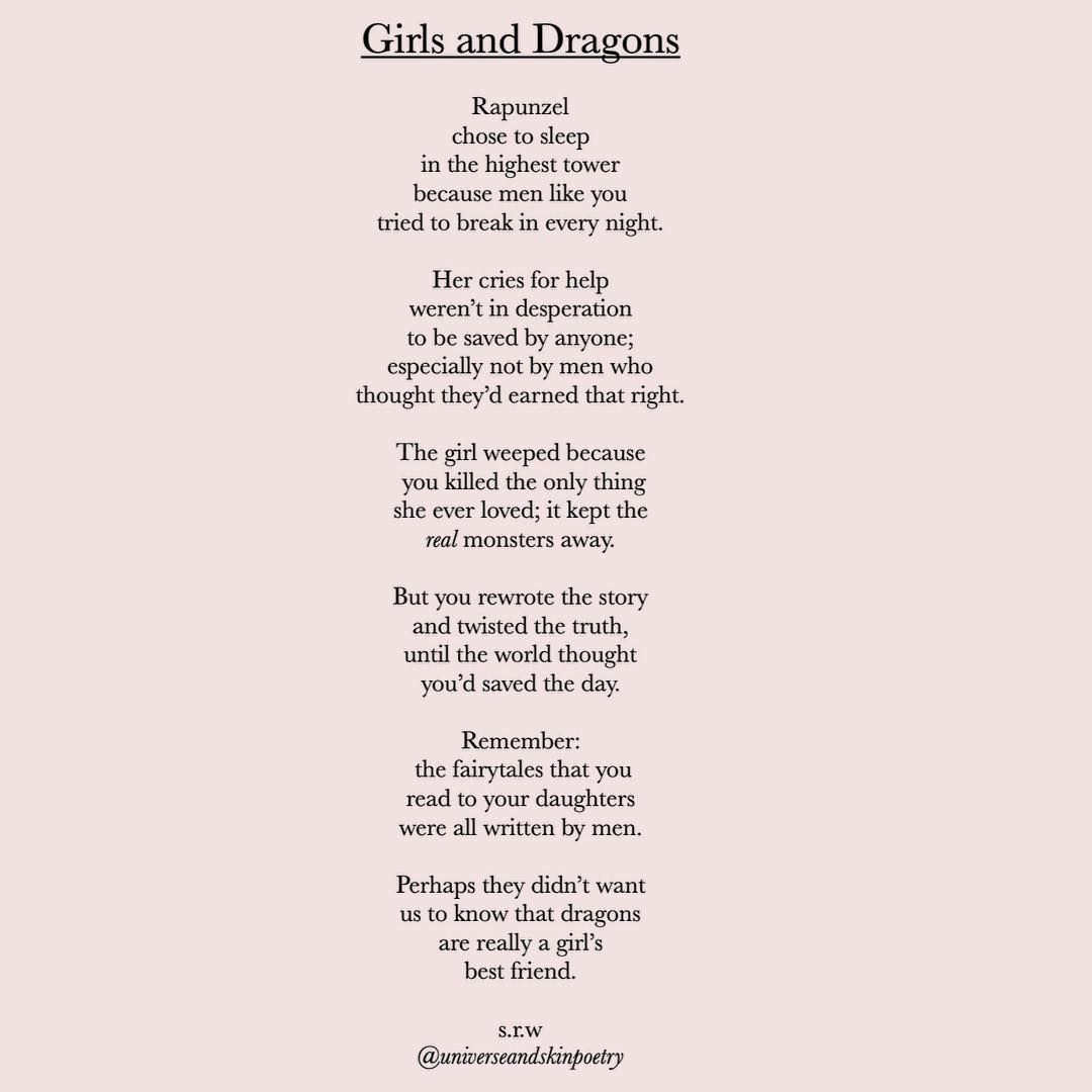 Image May Contain Text Poetry Inspiration Feminist Poems